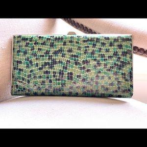 Lodis kisslock clutch/wallet